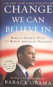 Change We Can Believe In  Barack Obama's Plan to Renew America's Promise